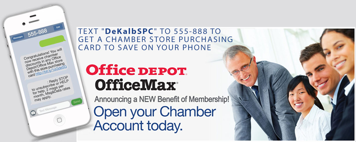 Office Depot Chamber account