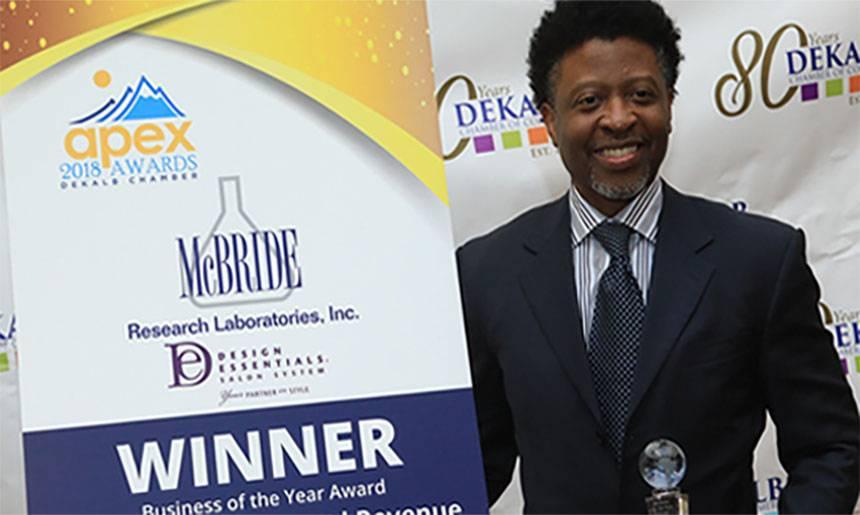 2018 APEX Business Awards - Cornell McBride, Winner!!