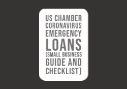 US Chamber Coronavirus Emergency Loans (Small Business Guide and Checklist)